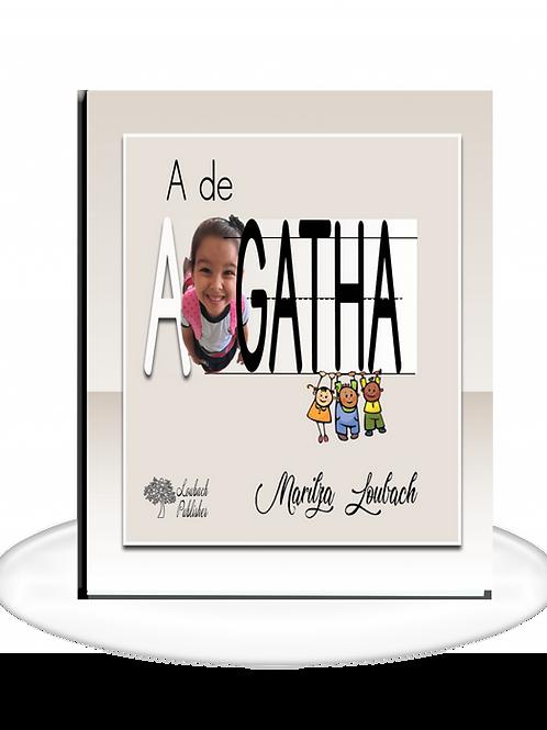 A as Agatha ( A de Agatha) - LOJA NOS EUA