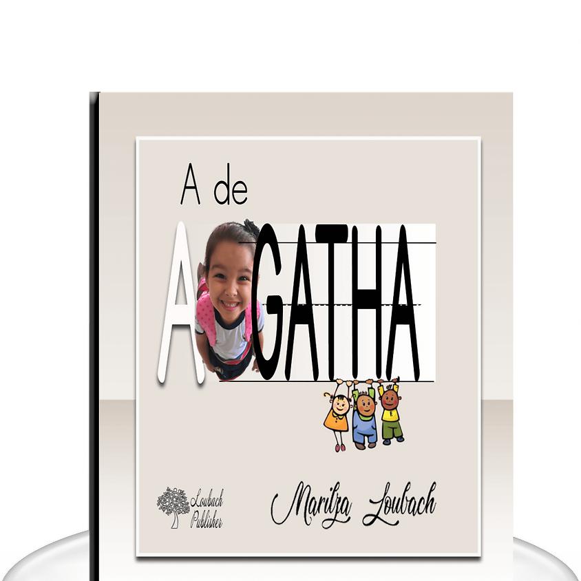 Lançamento do meu livro A de Agatha