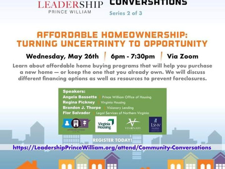 Affordable Homeownership: Turning Uncertainty to Opportunity
