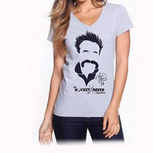 "copy of ""Freedo"" t shirt - Heather Grey - Womens"