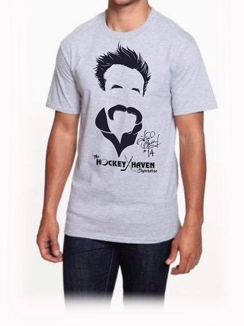 """Freedo"" t shirt - Heather Grey - Mens"