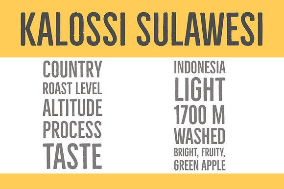 Kalossi Sulawesi