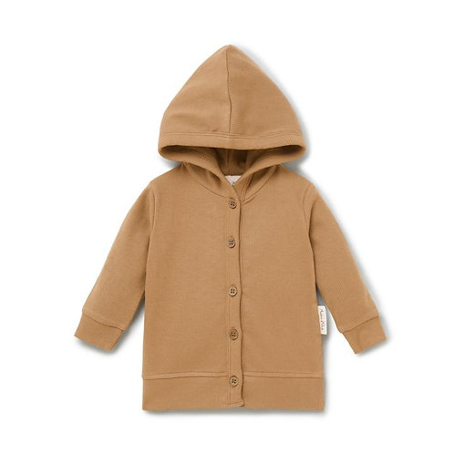 Taffy Rib Hooded Cardigan