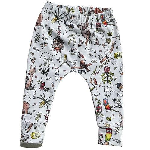 Organic Pants - Aussie Animals