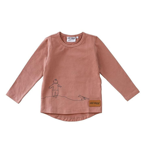 The Wanderer Top - Dusty Pink