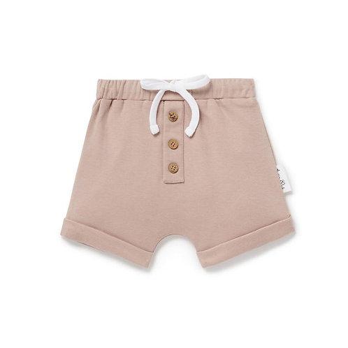 Button Shorts - Fawn