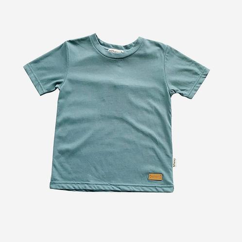 Plain Tee -Deep Turquoise