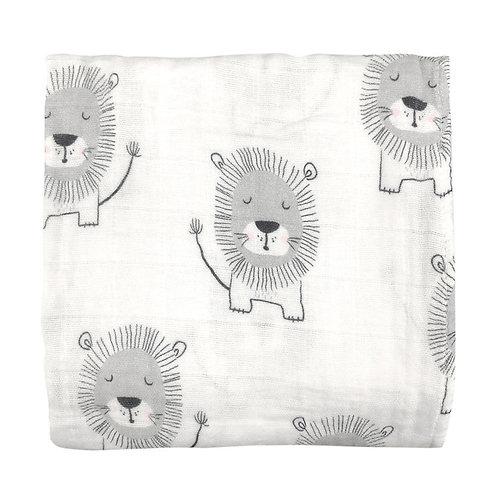 Muslin Wrap - Lion