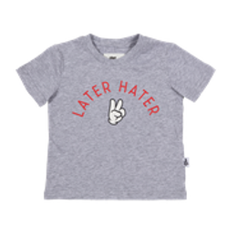 Later Hater Tee (Grey)