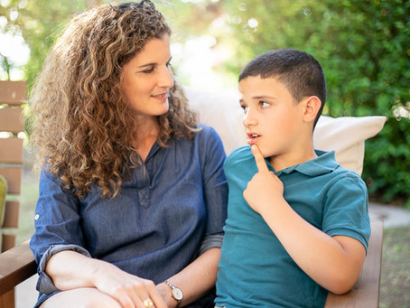 עיבוד רגשות עם ילדים