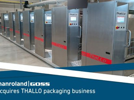 manroland Goss Group acquires THALLO packaging business