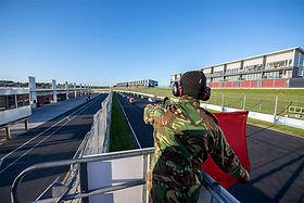 Trofeo Series Racing across finish line
