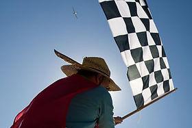Trofeo Finish Flag