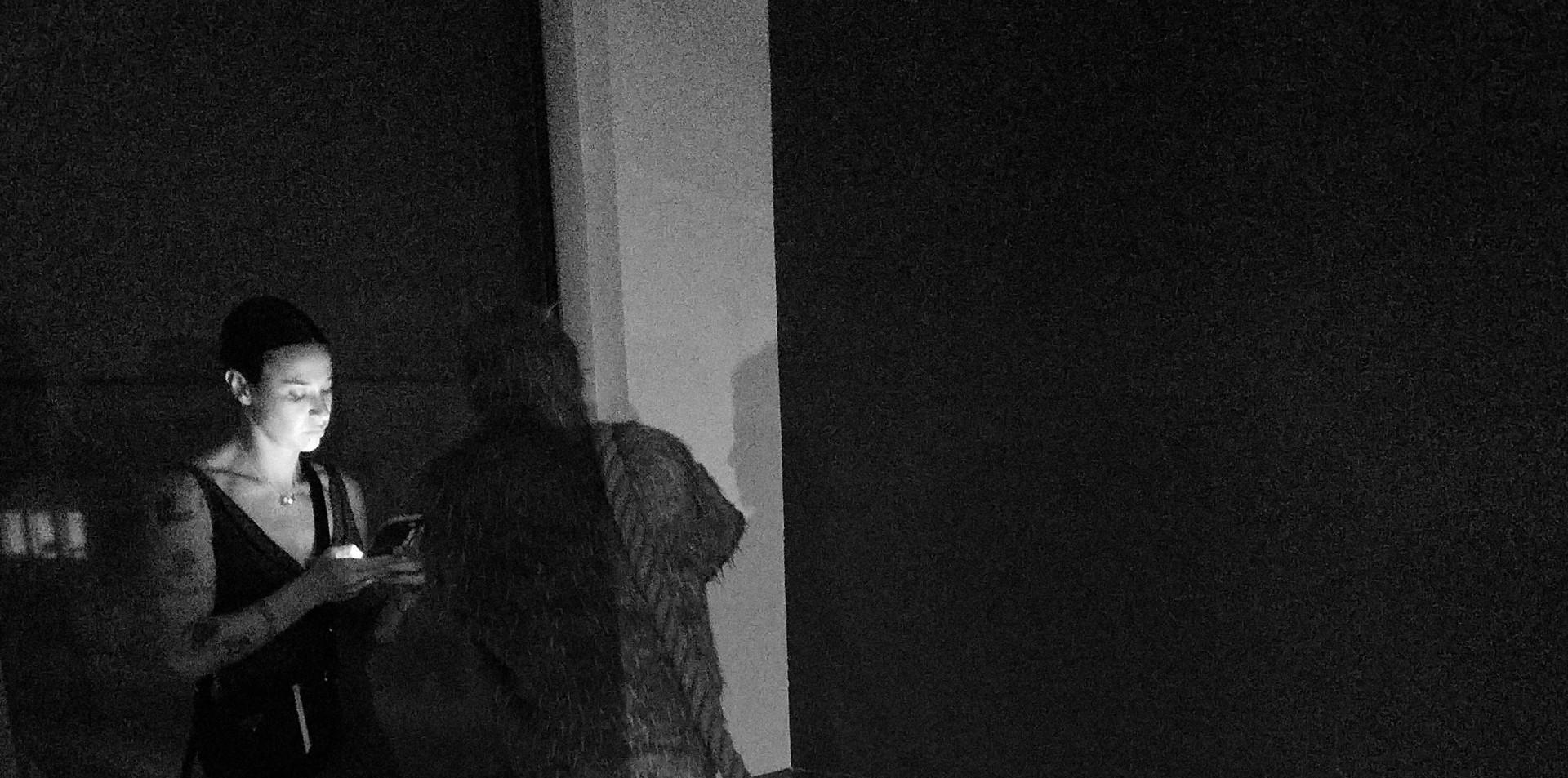 Unobserved Watcher in the Shadow