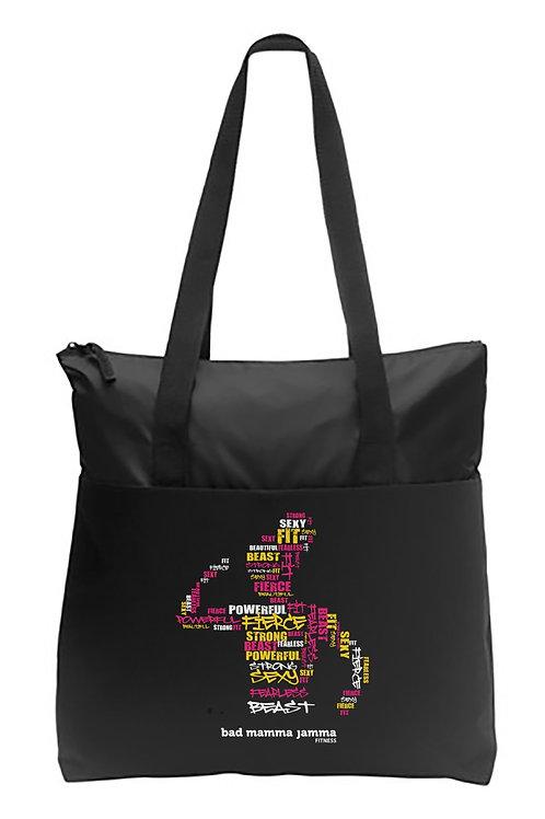 Fierce Art Tote Bag