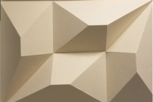 Poly 3D Acoustic Tiles, 8 Pack