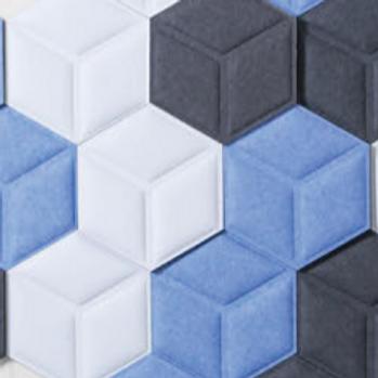 Hex 3D Acoustic Tiles 18 pack