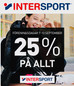 INTERSPORT DAGAR 25% Rabatt