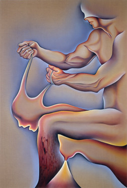 Judy Chicago, Crippled by the Need to Control, 1983