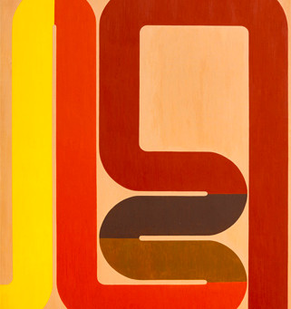 James Kelly - Tubes and Radiators: Paintings from 1964 - 1967 - Press Release