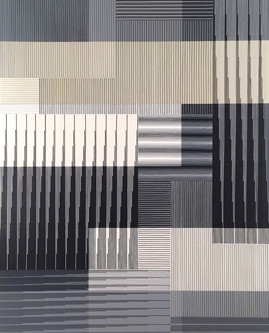 Introducing Peter D Stephens and His Geometric, Optical and Color-based Abstract Paintings