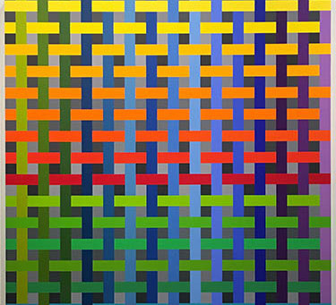 """Andrew Huffman """"Modulated: Color and Structure"""""""
