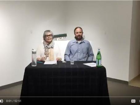 Artist talk with Erik H Gellert at David Richard Gallery