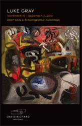 "Luke Gray ""Deep Skin & Strokeworld Paintings"""