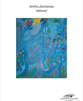 Exhibition Catalog of Gestural and Lyrical Abstract Paintings from the 1960s by Anthe Zacharias