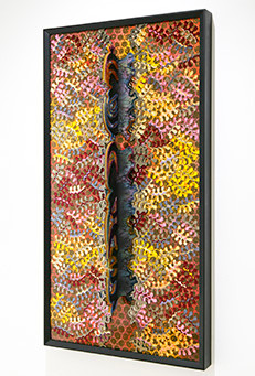 Heather McGill Mixes Materials, Color, Sculpture and Stitching in Her Constructions