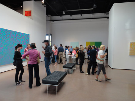David Richard Gallery opens with a great crowd