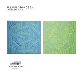 "Julian Stanczak ""Lineal Pathways"""