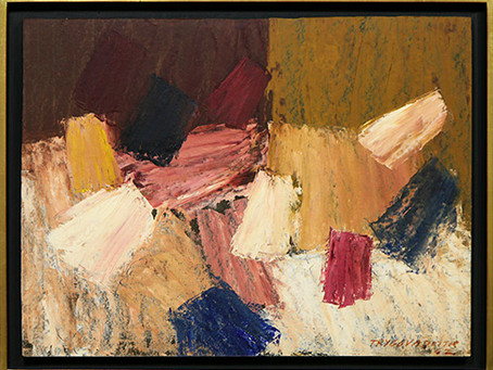 Abstract Expressionism and Segue into the 1960s, Nina Tryggvadottir: Paintings from 1952 – 1963 - Da