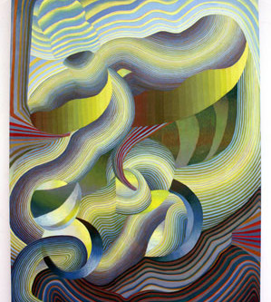 Introducing Spectacular Flowing Color Abstractions By Theresa Daddezio