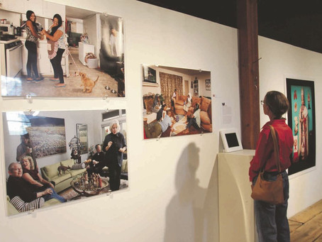 Women telling stories about women: Photographers' work on display in exhibition at Magdalena gal