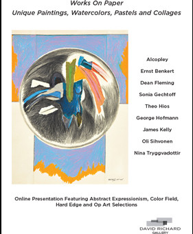 Works On Paper: Unique Paintings, Watercolors, Pastels and Collage by Gechtoff, Kelly, Alcopley, Sih
