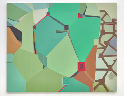 "MIKE CHILDS ""The Journey:Grids, Color and Curvilinear Forms,2004 to 2020"""