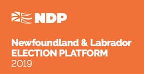 Leader Alison Coffin unveils NDP Platform that puts people first