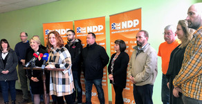 NL NDP Leader Alison Coffin calls for more hires in health care