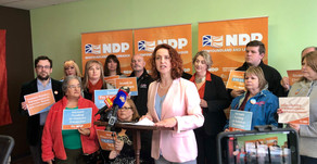 NL NDP commits to improving life for women in Newfoundland and Labrador