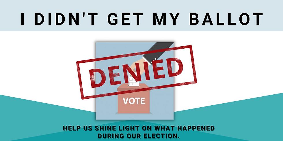 Help us shine light on what happened dur