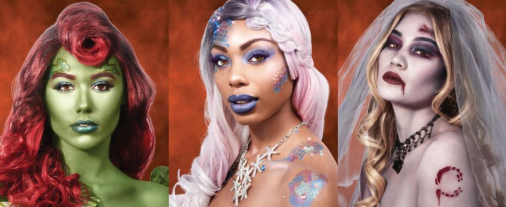 Vine Vixen, Undersea Goddess, Zombie Bride - Wet and Wild Fantasy Makers