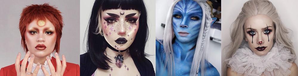 @makeupmouse, @lou.von.bright, @zorinblitzz, @kaylahagey via the Sugarpill Instagram