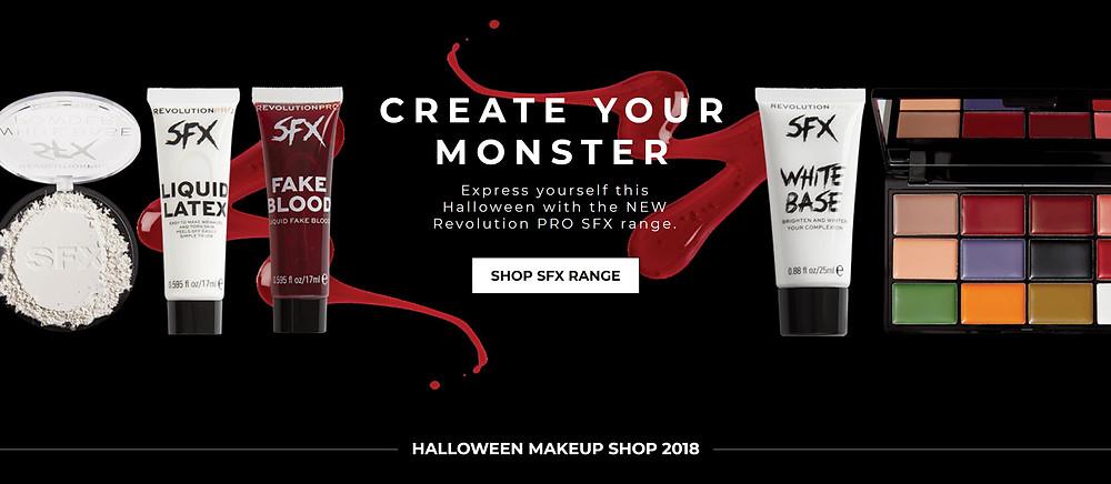 Halloween Collection revolutionbeauty.com