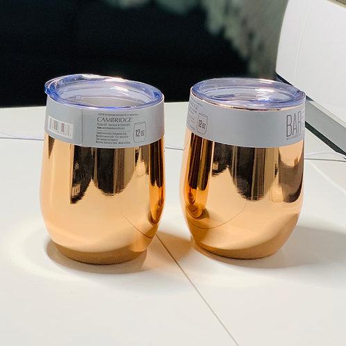 Wine Tumbler Cups (2 pak)