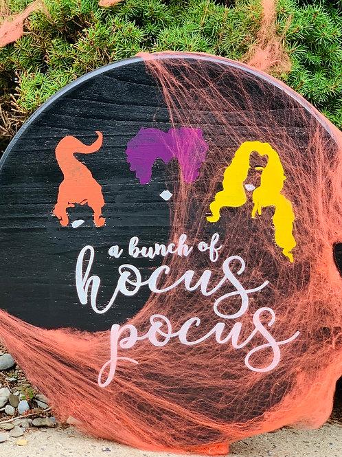 Hocus Pocus Wood Sign
