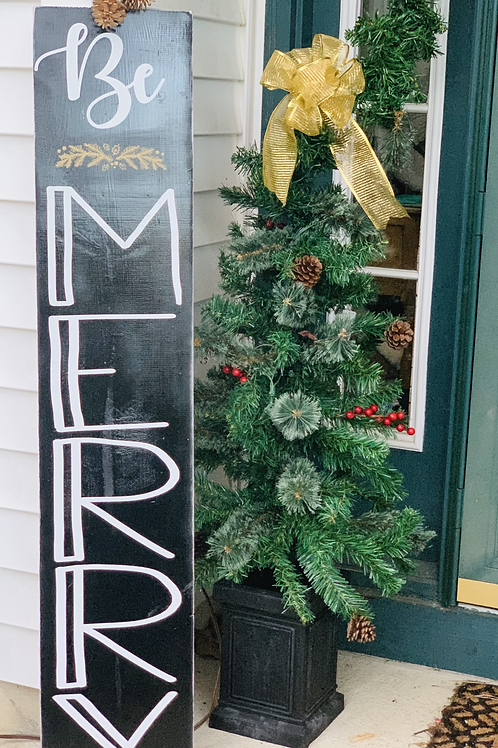 Christmas Porch Wood Sign