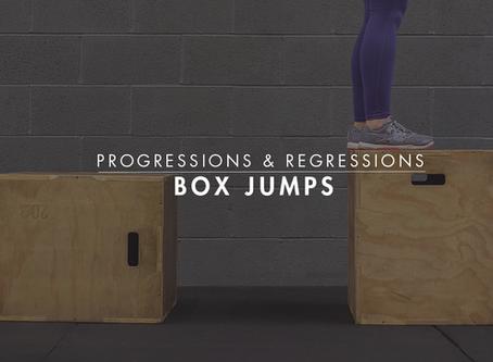 Progressions & Regressions    Box Jumps
