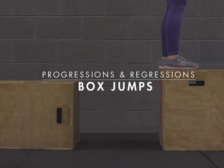 Progressions & Regressions || Box Jumps
