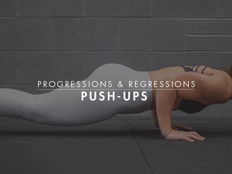 Progressions & Regressions || Push-Ups